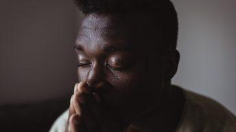 grief black man
